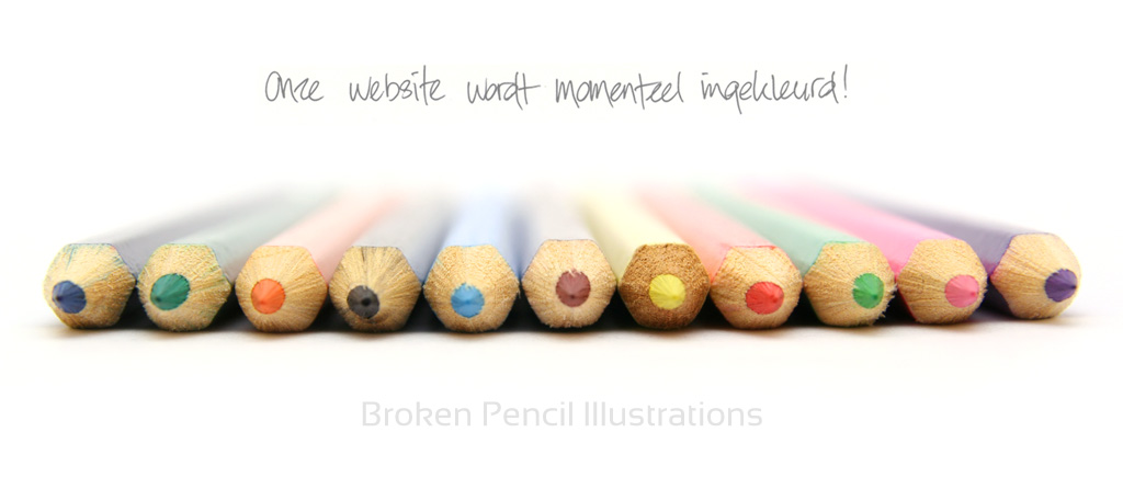 broken pencil illustraties eindhoven cartoons en comics